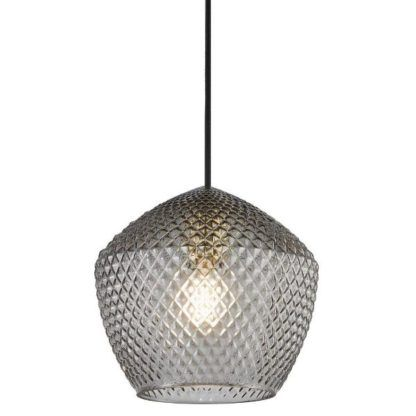 lampa z fasetowanego szkla
