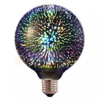 Żarówka dekoracyjna LED - efekt 3D, E27