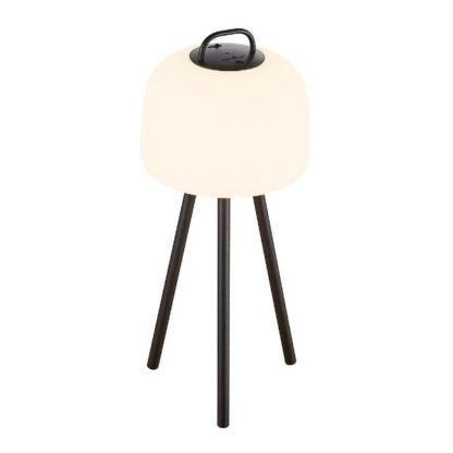mobilna lampa stołowa do ogrodu
