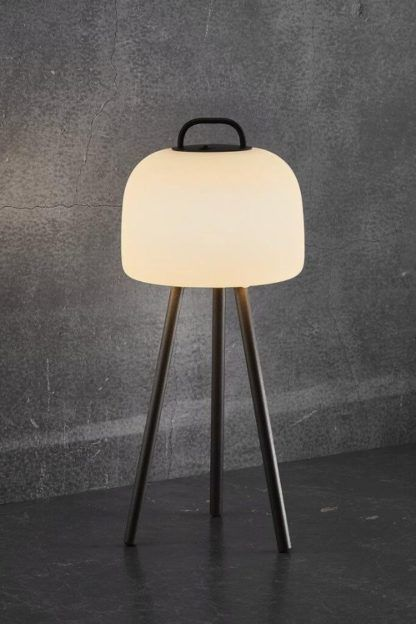 nowoczesna lampa tarasowa na usb