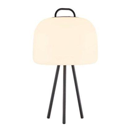oświetlenie tarasu tripod stołowy