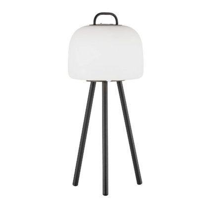 ogrodowa lampa stołowa trójnóg