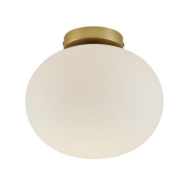 mleczny plafon ze szkła vintage 2010506001