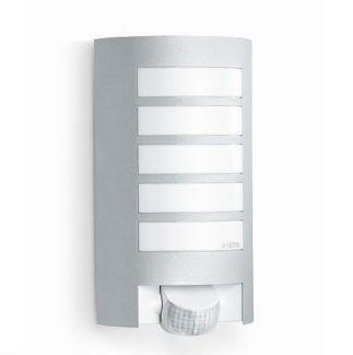 Kinkiet L 12 S - aluminium, czujnik ruchu PIR, E27