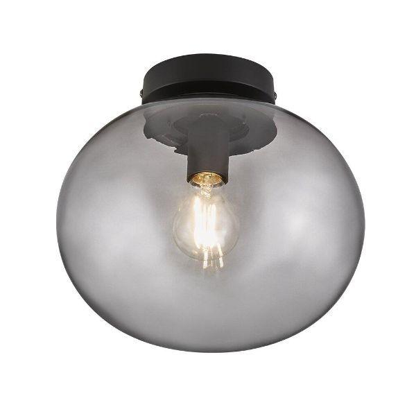 lampa sufitowa szklana kula