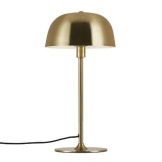 Złota lampa stołowa Cera - metalowa