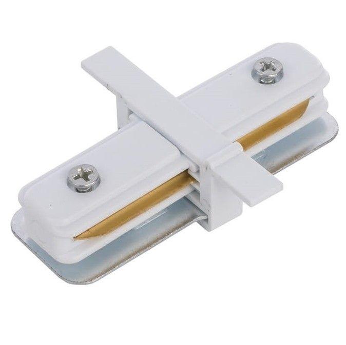 Wpuszczany łącznik prosty Profile - biały