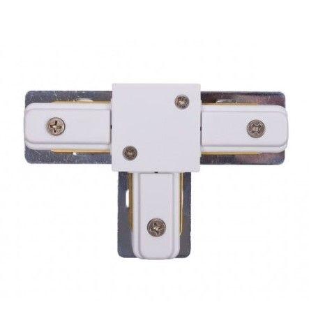 Łącznik T-connector - system szynowy Profile, biały
