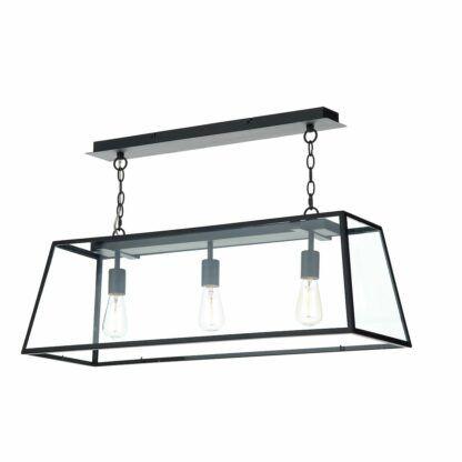 szklana lampa barowa