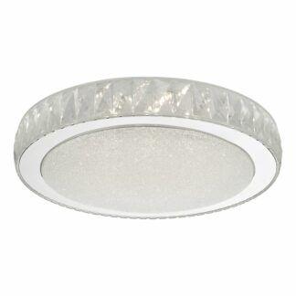 Elegancki plafon Akrelia - LED, kryształki