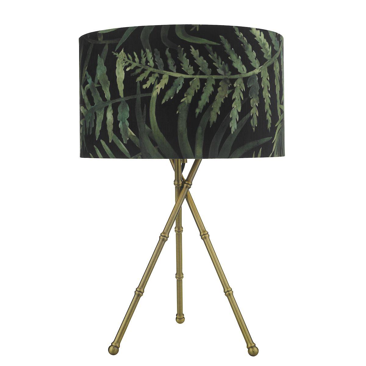 lampa stołowa trójnóg
