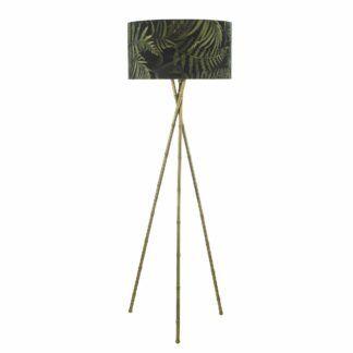 Podstawa do lampy podłogowej Bamboo - mosiądz