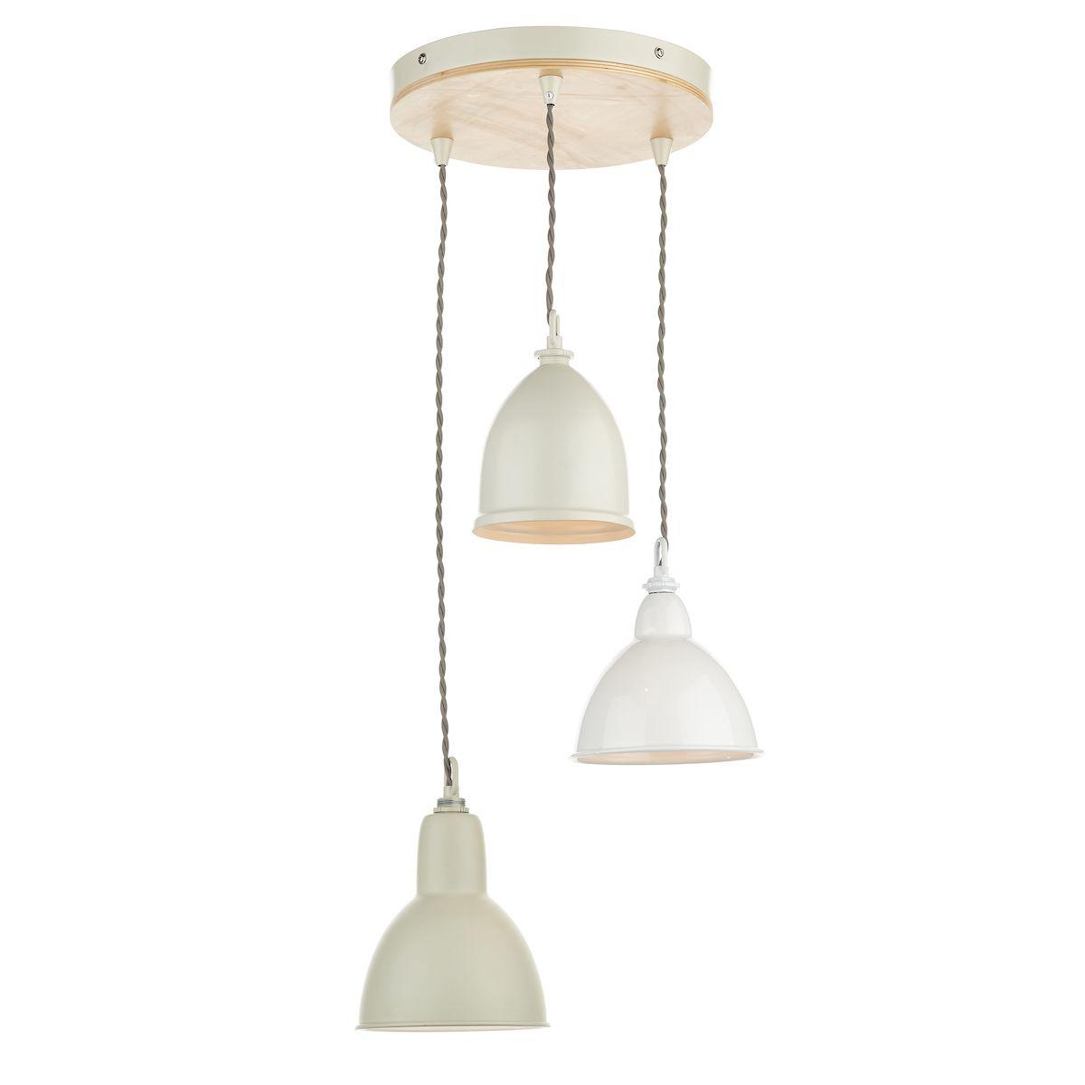 okrągła lampa wisząca vintage