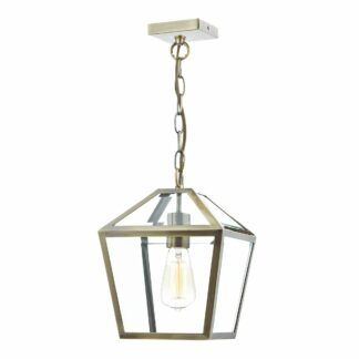 Klasyczna lampa wisząca Churchill - mosiądz