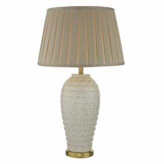 Podstawa do lampy stołowej Dayna - kremowa