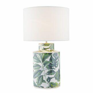 Lampa stołowa Filip - podstawa w liście