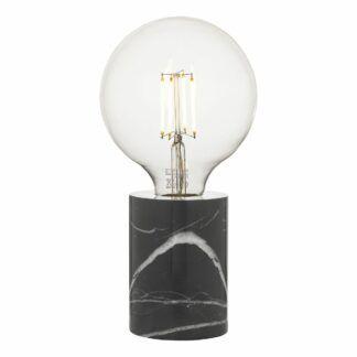 Lampa stołowa Jaxon - czarny marmur