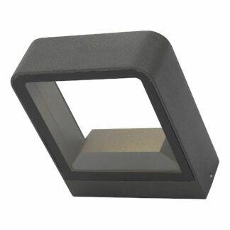 Kinkiet elewacyjny Malone - antracyt, LED, IP65
