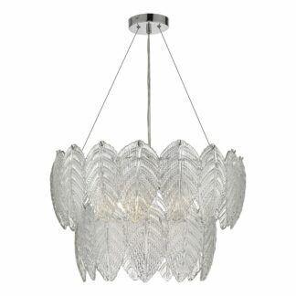 Lampa wisząca Phillipa - szklany klosz