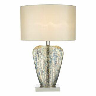 Lampa stołowa Syracuse - biały abażur