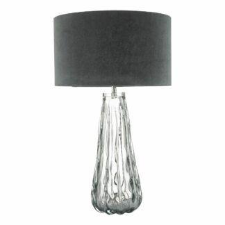 Szklana lampa stołowa Vezzano - ombre