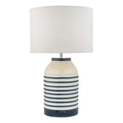 ceramiczna lampa stołowa