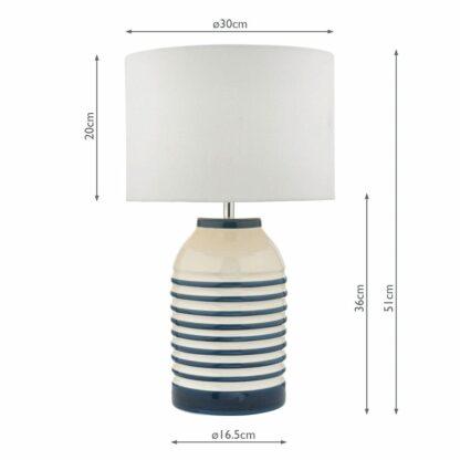 lampa stołowa hamptons