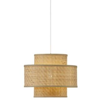 Lampa wisząca Trinidad - bambusowy klosz