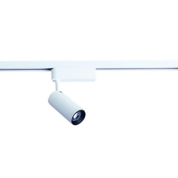 Biały reflektor sufitowy Profile Iris LED - oświetlenie szynowe