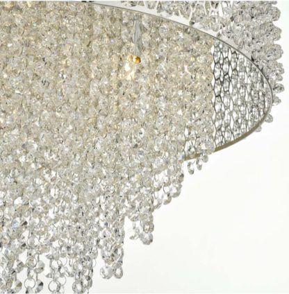 kryształowy żyrandol glamour