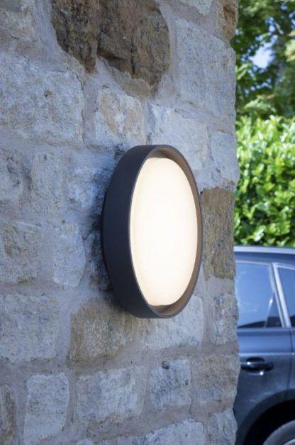 lampa elewacyjna duży klosz