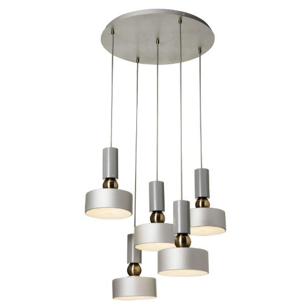 nowoczesna lampa wisząca kaskada