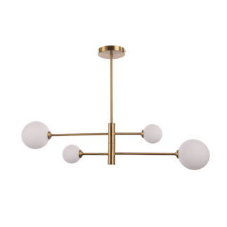 Lampa wisząca Dorado - 4 szklane klosze