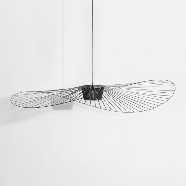designerska lampa do salonu druciana