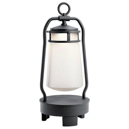 latarnia na baterię oświetlenie tarasu
