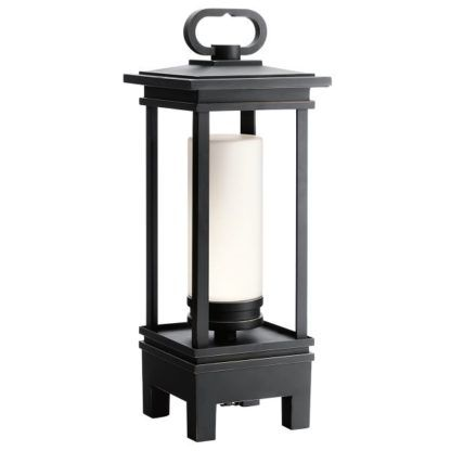 lampa stojąca na baterię na taras