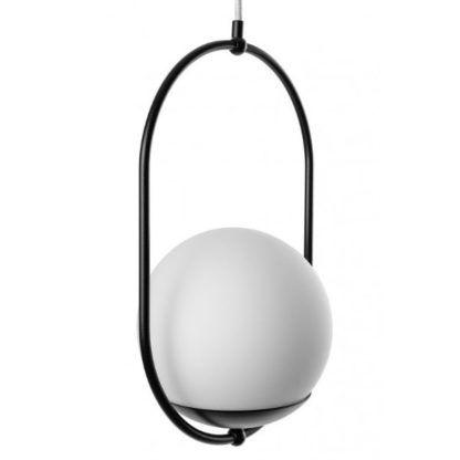 szklana lampa wisząca do gabinetu