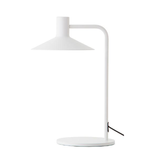 Lampa stołowa Minneapolis - biała, nowoczesna