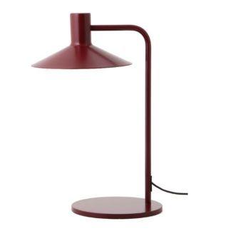 Nowoczesna lampa biurkowa Minneapolis - czerwona