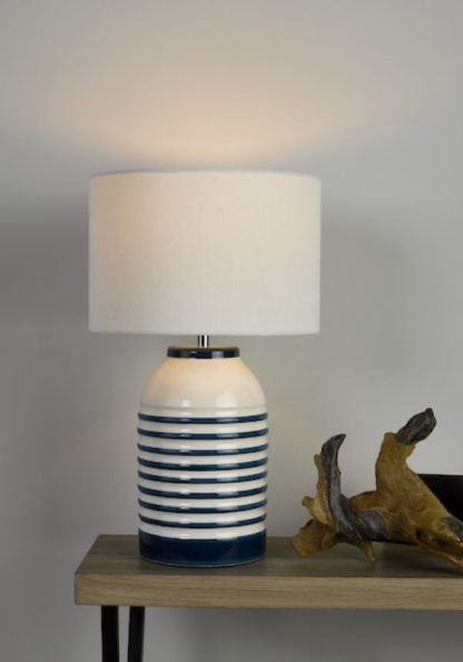 lampa stołowa marynarski granat
