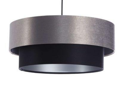 atłasowa podwójna lampa wisząca 061-040
