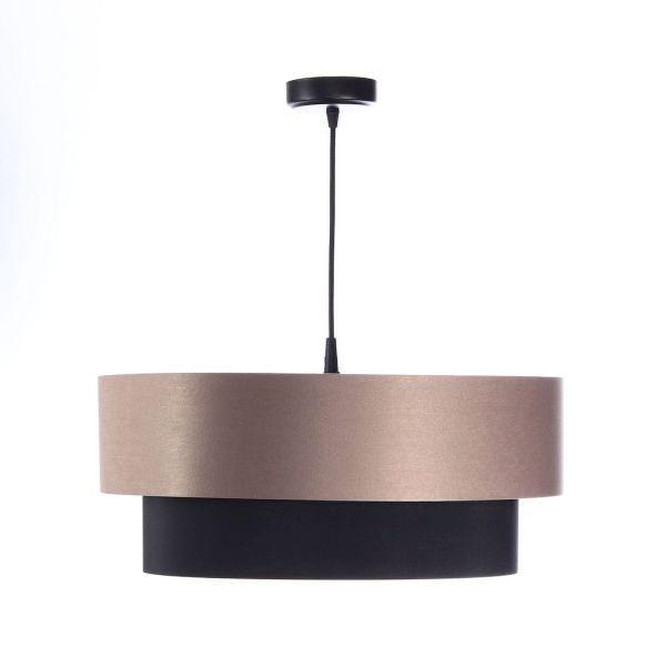 lampa wisząca z abażurem nad stół