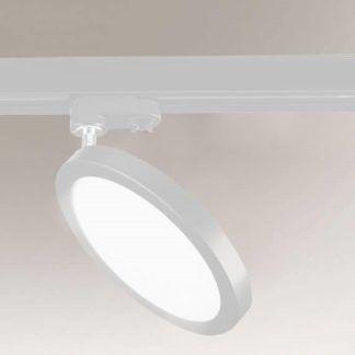 Okrągłą lampa sufitowa Ito - biała, LED, Profile Shilo