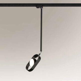 Lampa wisząca Furoku - czarna, LED, Profile Shilo