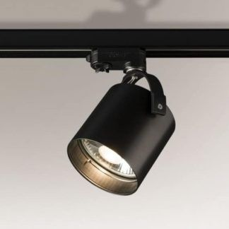 Gotowy system szynowy Profile Shilo - czarny, 3 reflektory