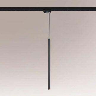 Lampa wisząca Kosame - czarna, długi klosz, Profile Shilo