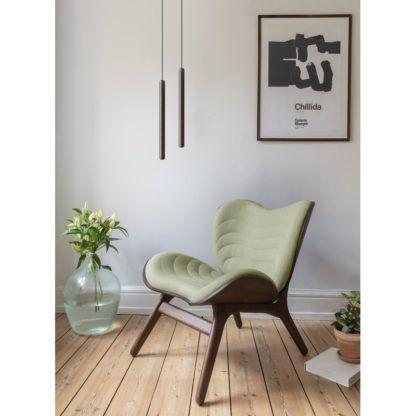drewniana lampa wisząca do salonu