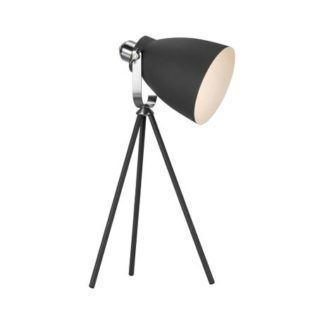 Lampa stołowa Largo - metalowa, trójnóg