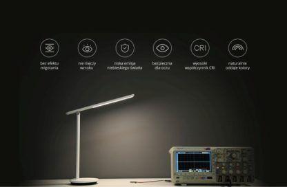 nowoczesna lampa bezpieczny wzrok
