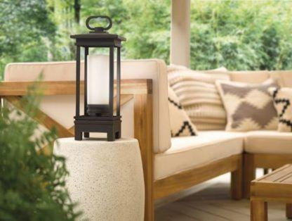 latarnia ogrodowa z głośnikiem